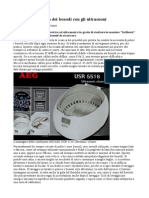 AEG USR 5516 Ultrasonic Cleaner
