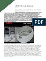 AEG USR 5516 Ultrasonic Cleaner