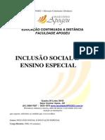 APOSTILA Inclusão Social e Ensino Especial.pdf