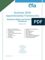 CFA Apprentice Business Administration ERR Workbook