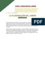 Elaboración y Curación Del Jamón