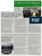 AFSCME New Mexico WORKS - Newsletter Oct 2014