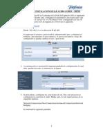 Manual de Instalacion de IAD Audio Codes MP202 - V.5-REVISADO