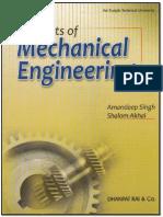 Elements of Mechanical Engineering for PTU Batch 2011 Onwards...