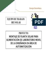 BeeSolar Presentation