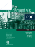 SDBC 101 Sustainable Design Fundamentals for buildings