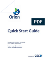 Orion Quick Start Guide