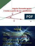 cálculo de la pendiente entre dos rectas.ppt