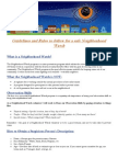 revision 1 guidelines and rules to follow for a safe neighborhood watch