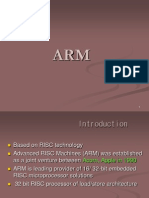 Introduction to the ARM Processors