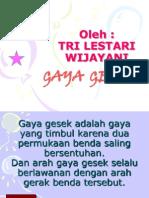 Gaya Gesek Mkteaching