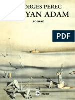 Georges Perec - Uyuyan Adam