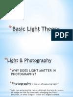 basic light theory iso  aperture
