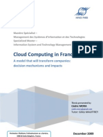 Cloud Computing in France