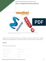 Digitel, Movilnet y Movistar_ Configuración básica puntos de acceso (APN) _ UniversoTek.pdf