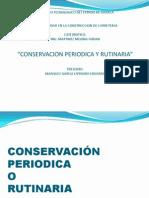 Conservación Periodica y Rutinaria