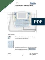 Manual Practico de Operacion de Tarificador PMC1000