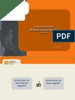 Sesion 07 y 08 Emprendimiento PAE - Mi Primer Plan de Negocios.pdf