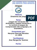 tarea V dinamica de juego mariluz.doc