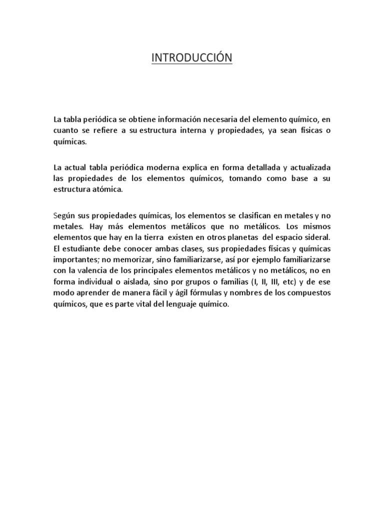 Trabajo de laboratorio tabla periodicapdf urtaz Image collections