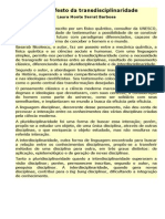 O manifesto da transdisciplinaridade.docx