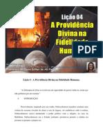 Lição 4 - Subsídio - A Providência Divina na Fidelidade Humana.docx
