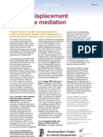 Internal Displacement and Peace Mediation