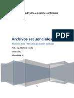 Archivos Secuenciales - Fernando Zamudio.pdf