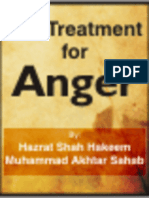 Treatment for Anger in Islam
