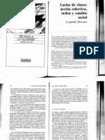 Moscoso 92, Lucha de clases acción colectiva, orden y cambio social.pdf