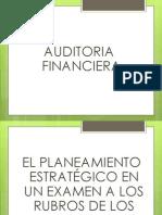 CLASE 2 - AUDITORIA FINANC. Y EXAMEN A LOS RUBROS.pptx