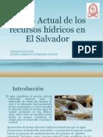 Estado Actual de los recursos hídricos en ESA presentacion sd.pptx