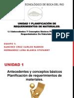1.1 PLANIFICACION DE REQUERIMIENTOS DE MATERIALES.pptx