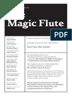 Magic Flute Study Guide