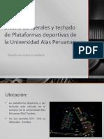 Diseño de tijerales y techado de Plataformas deportivas.pptx