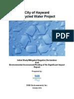 Public Draft - Hayward - Is-MND and EA-FONSI2