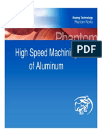 High Speed Aluminum Machining Presentation