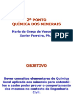 2º PONTO - QUÍMICA DOS MINERAIS 17.02.14.ppt