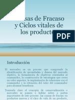 etapas Causas de fracasos y ciclos vitales de los productos PRESEMTACION.pptx