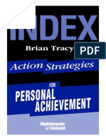 Action Strategies for Personal Achievement Index