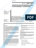 NBR 13830 - Coleta de Amostra de Agrotóxico para Fins de Fi.pdf