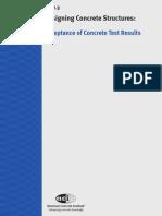 E702.3 Acceptance of Concrete Test Results 2007-03-06