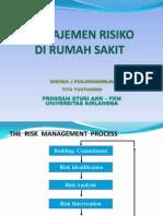 manajemen risiko di RS