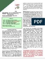 Moraga Rotary Newsletter Oct 21 2014