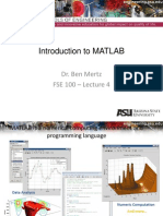Lecture4 MATLAB