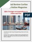 Financial Review Corliss Group Online Magazine - Q&A