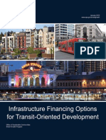 2013 0122 TOD Infrastructure Financing Report