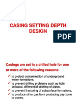 8-Casing Setting Depth Design
