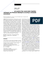 Ecological Research Volume 22 Issue 3 2007 [Doi 10.1007%2Fs11284-006-0037-5] Mayuko Suzuki; Yuhdai Kaya; Takahide a. Ishida; Kouhei Hattori; -- Flowering Phenology and Survival of Two Annual Plants Impatiens Noli-tanger