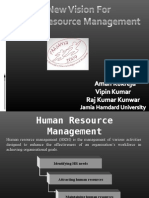 Presentation New Vision on Hrm